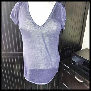 Athleta Sheer T-shirt